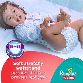 Pampers Baby Dry Pants L 18s - 6 Packs - 3