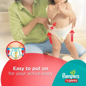 Pampers Baby Dry Pants L 18s - 6 Packs - 4
