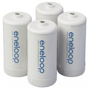 Panasonic BQ-BS1E4SA Eneloop D Size Spacers for Use with Ni-MHRechargeable AA Battery 4 Count Price Philippines