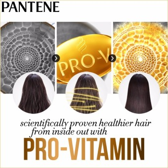 Pantene 3 Minute Miracle Color & Perm Conditioner 180ml withFree Black Gift Pouch - 3