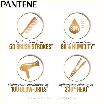 Pantene 3 Minute Miracle Color & Perm Conditioner 180ml withFree Black Gift Pouch - 4