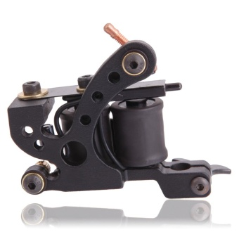 Panther XHJ006A 10-Coil Liner Tattoo Machine Black - intl Price Philippines