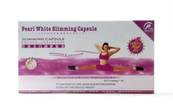 Pearl White Slimming Capsules 400mg Pack of 30