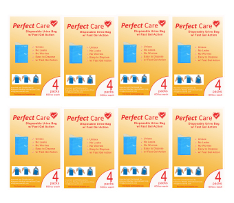Perfect Care Disposable Urine Bags (Set of 8)