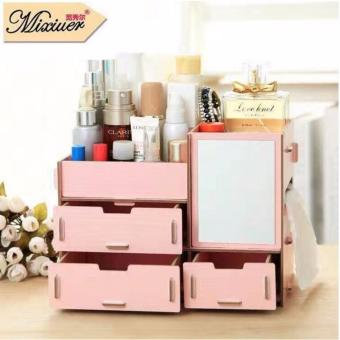 Phoebe's Wooden DIY make up organizer Box 07