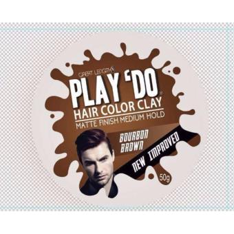 Play 'Do Hair Color Clay Bourbon Brown ( New Improved )