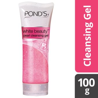 POND'S WHITE BEAUTY FACIAL CLEANSING GEL 100G .