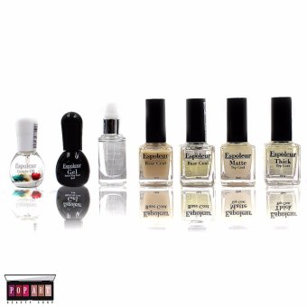 Pop Art Khloe Coat Nail Polish Set of 6 with Cuticle Coat& Dry Drop