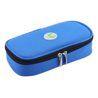 Portable Diabetic Carrying Case Insulin Cooler Bag Holder CaseOrganizer (Blue) - intl - 3