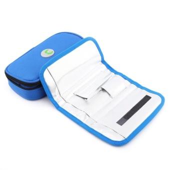 Portable Diabetic Carrying Case Insulin Cooler Bag Holder CaseOrganizer (Blue) - intl - 4
