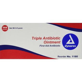 Pretrada Dynarex 1180 Triple Antibiotic Ointment- 144 Count