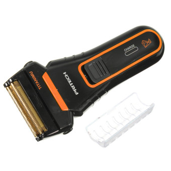 Pritech RSM-1310 Electric Two-Blade Shaver (Orange) - picture 2