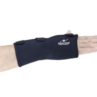 PROCARE PROTECT #1032R Hand and Wrist Splint Brace with Metal Support, Right Hand (Black) - 3