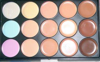 professional 15 color contour concealer cream palette - 2