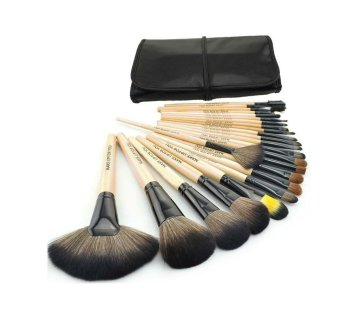 Professional Cosmetics Make-Up Brushes 24-piece Set