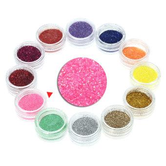 Professional Nail Art Manicure Kits Decoration UV Gel Tool Brush Remover Nail Tips Glue Acrylic Kits DIY Set - Intl - 3