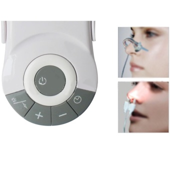 Professional Rhinitis Therapy Machine Allergy Reliever LowFrequency Laser Hay Fever Sinusitis Treatment Device Nose CareMachine - intl - 4