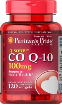 Puritans Pride Coq10 100mg Bottle of 120 Price Philippines