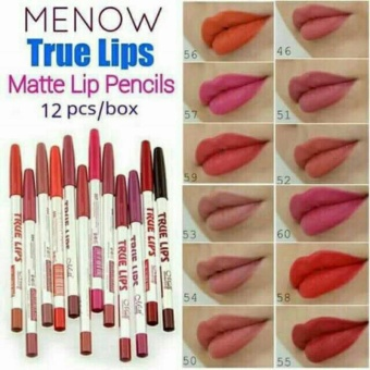 QF True Lips Lip Liner 12pcs Price Philippines