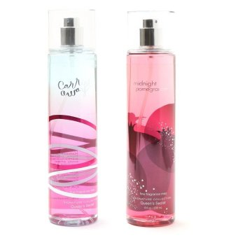 Queen's Secret Carried Away Fine Fragrance Mist for Women 236ml with Queen's Secret Midnight Pomegranate Fine Fragrance Mist for Women 236ml Bundle