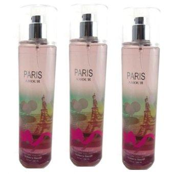 Queen's Secret Paris Amour Fine Fragrance Mist for Women 236ml Set of 3
