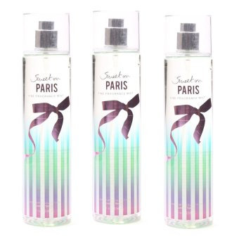 Queen's Secret Sweet on Paris Fine Fragrance Mist for Women 236ml Set of 3
