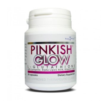 Royale Pinkish Glow L-Glutathione 367mg Capsule Bottle of 30