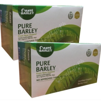 Sante Barley Pure powder juice New Zealand (3grams / 30 sachets) 2boxes Price Philippines