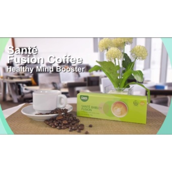 Sante Fusion Coffee (10 sachets/15gms) Price Philippines