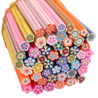 Sanwood DIY Flower Nail Art Sticker 50pcs