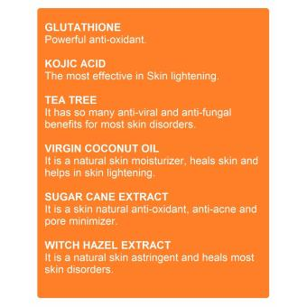 SCT Acne Care and Face Whitening Set (Organic) - 4