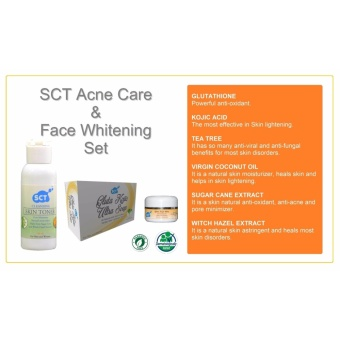 SCT Acne Care and Face Whitening Set (Organic) - 2