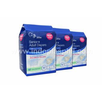 Senior+ Premium Quality Adult Diapers - Medium (Sold in 3 packs) - 2