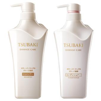 Shiseido Tsubaki Damage Care Set Shampoo and Conditioner - Bottled / White - 2