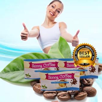 Skinny Slimming Coffee Sakura a with l-carnitine, garcinia cambogia and green tea extract, (BOX OF 3)