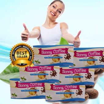 Skinny Slimming Coffee Sakura a with L-Carnitine, Garcinia Cambogia and Green Tea Extract Box of 6