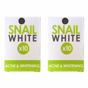 Snail White 10x Glutathione Acne Whitening 70g Soap Bundle of 2 Price Philippines