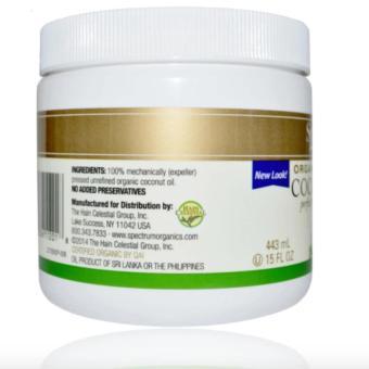 Spectrum Essentials, Organic Unrefined Coconut Oil, 15 fl oz (443ml) - 2