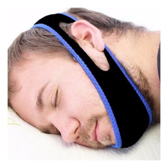 Stop Snoring MouthPiece Sleep Apnea Night Guard TMJ + Anti Snore Chin Strap Belt - intl - 4