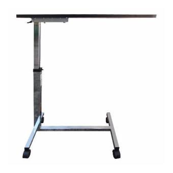 Taiwan Union Non Tilt Top Over bed Table Heavy Duty (Walnut) - 3