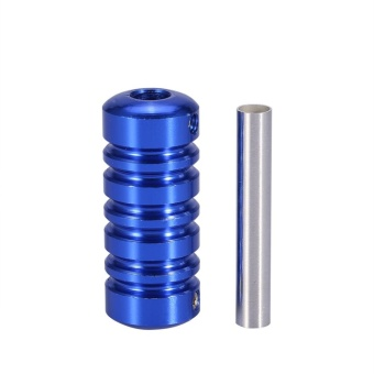 Tattoo Machine Handle Part Tube Tip Grip Body Art Accessory WithBack Stem Blue - intl - 2