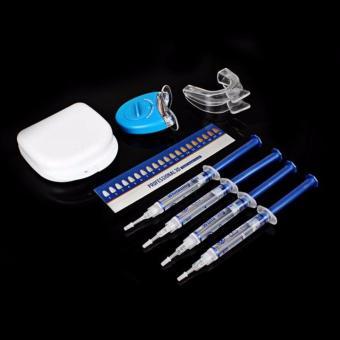 Teeth Whitening White Bleaching System Oral Gel Kit Tooth Whitener - 2