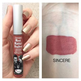 The Balm Meet Matt(e) Hughes Liquid Lipstick (Sincere) 7.4 ml (light mauve) - 3