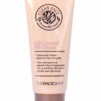The Face Shop Clean Face Oil Control BB Cream 35ml - intl