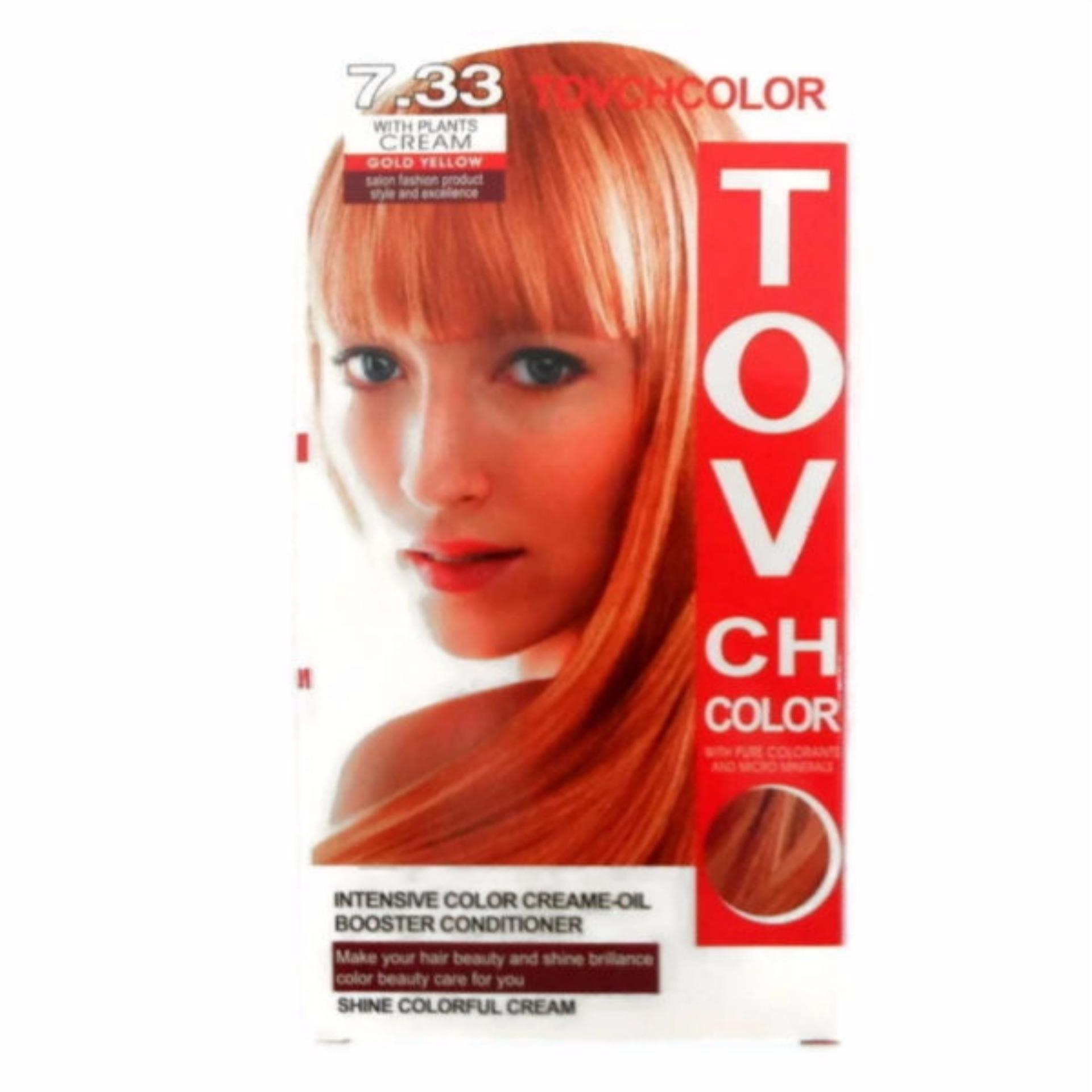 Philippines Tov Hair Color No 733 Gold Yellow Buy 1 Take 1 357g