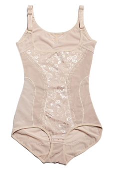 Tummy Suit Control Girdler Underbust Slimming Shapewear (Apricot) - picture 2