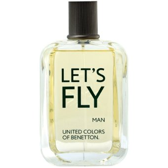 United Colors of Benetton Let's Fly Man Eau de Toilette 100ml - picture 2