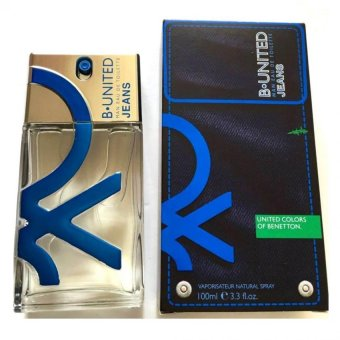 United Colours Of Benetton B-United Jeans Man EDT Spray 100 ml