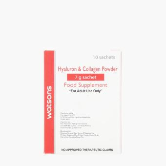 Watsons Hyaluron and Collagen Powder Food Supplement (10 sachets)