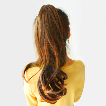 Wavy Ponytail Wigs Hair Hairpiece Extension - picture 2